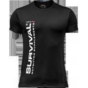 Pánské triko - Survival® Hrajeme Fair (černé)