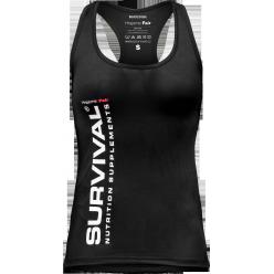 Dámské tílko - Survival® Hrajeme Fair (černé)